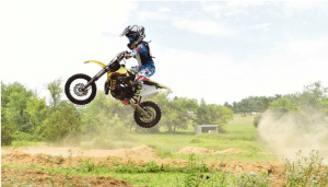 What is the legal age to ride a dirt bike