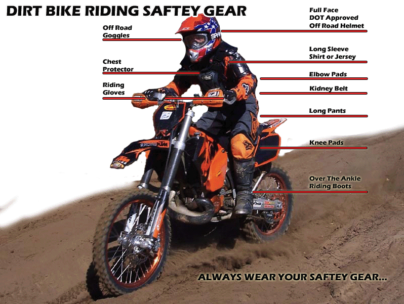 what to wear for dirt bike riding