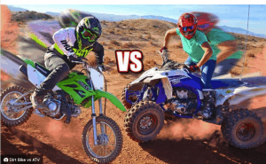 Which is safer Dirt bike or Four-wheeler